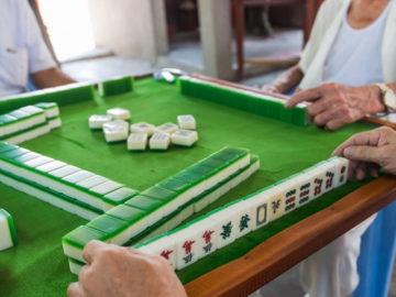 A Mahjong Tile Set